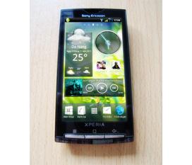 Sony Xperia X10i ngọc trai đen ảnh thật giá chuẩn có FIX