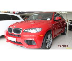 Bán BMW X6M 2010 2011 Màu đỏ kem giấy tờ xe giao ngay kịp thuế