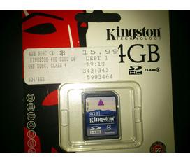 Thẻ nhớ Kington SDHC chính hãng xt từ mỹ