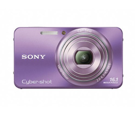 Sony Cyber Shot DSC W570 16.1 MP Digital Still Camera with Carl Zeiss Vario Tessar 5x Wide Angle Optical Zoom Lens and 2