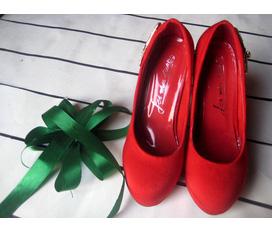 High heel ĐỎ đun cực đẹp diện Tết, new 100%