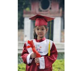 May và cho thuê áo cử nhân, áo tốt nghiệp mẫu giáo, mầm non, tiểu học, trung học