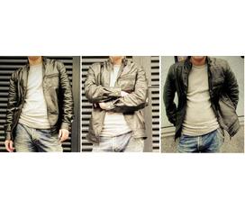 Áo da xịn, thời trang, hàng xách tay, chế độ bảo hành tốt