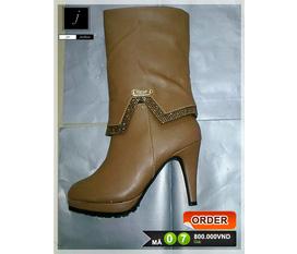 Giày nữ, boots nữ phong phú đa dạng