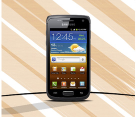 FPT PHÂN PHỐI: Samsung I8150 Black Giá Rẻ Có Trả Góp Samsung I8150 Black