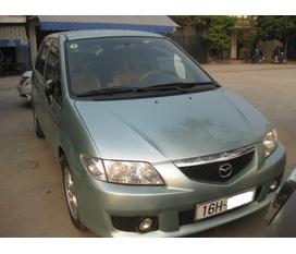 Bán Mazda Premacy đời 2004 màu xanh ngọc biển 16H