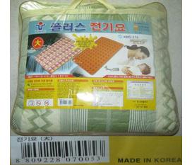 Chăn điện Hàn Quốc Cotton Woori model 01