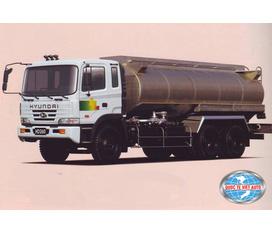 Xe ô tô xitec chở nhiên liệu Hyundai HD170 15m3