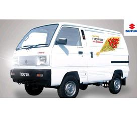 Đại lý Suzuki số 1 bán xe bán tải Blind Van 650Kg, xe 7 chỗ Window Van, xe 8 chỗ APV giá thấp nhất, hấp dẫn khuyến mại.