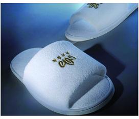 Dép khách sạn, dép trong phòng, dép sử dụng 1 lần chuyên dùng in logo cho khách sạn, resort