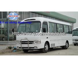 Chuyên cung cấp xe ô tô phục vụ tang lễ Hyundai 19 chỗ ngồi