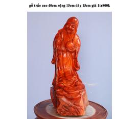 Tượng gỗ quý được làm từ gỗ trắc, gỗ Hương hàng độc nhất ko có bản thứ hai