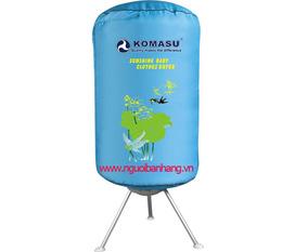 Máy sấy quần áo Komasu KP90, Công suất 900W, Có chức năng hẹn giờ tối đa 120P