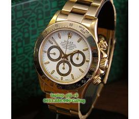 Bán cái đồng hồ ROLEX, 6 kim, kiểu thể thao, mạ vàng rất đẹp, giá rẻ 1,2tr