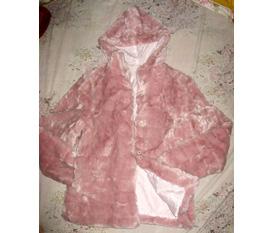 Áo lông dày ấm, màu hồng siêu kute :X