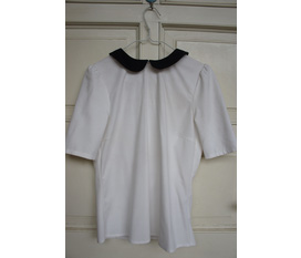Áo cổ peter pan Zara, jupe Zara, khăn ống H M. New 100%.