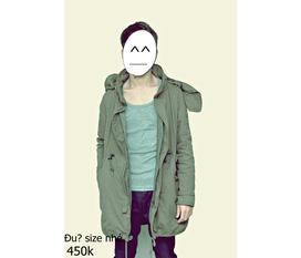 Jacket military 5 lớp made in korean giá sốc hàng số lượng có hạn