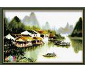Tự tay làm tranh sơn dầu treo tường, để bàn, làm quà tặng cho người thân, người thuơng thật ý nghĩa