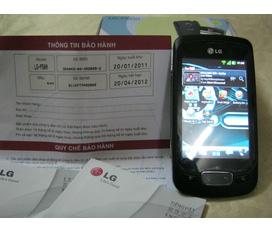 Bán LG Optimus One P500 Android 2.3 Hàng Cty Còn BH 20/4/2012 FullBox Ảnh Thật FULL HD