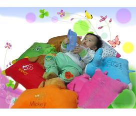 Mang Đến Giấc Ngủ Ngon Cho Con Yêu Của Bạn Với Gối Bông Baby Đa Năng Tại Ruby Runy Shop. Voucher Trị Giá 99k chỉ còn 59k