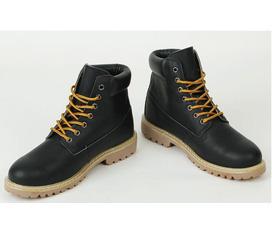 Giầy combat boots Nam Hàn Quốc