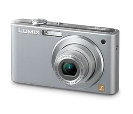 Bán máy ảnh Panasonic LUMIX DMC FS4 màu ghi bạc và Sony CYBER SHOT DSC F88 màu đỏ đô rất mới
