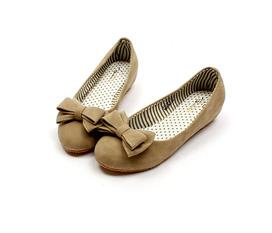 20% OFF Giày búp bê đế bằng kiểu dáng trang nhã, trang trí điểm nhấn nữ tính