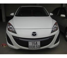 Bán Mazda 3 Hatchback 1.6 màu trắng đời 2010 mordern 2011 biển 15A 008.59