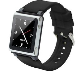 IPod Nano 6G iWatchz CLRCHR22BLK Q Collection Wrist Strap