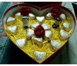 Bán socola cho ngày valentine