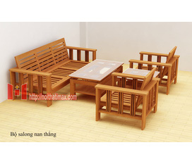Bàn ghế sofa gỗ tự nhiên phòng khách, hiện đại, đẹp, rẻ.