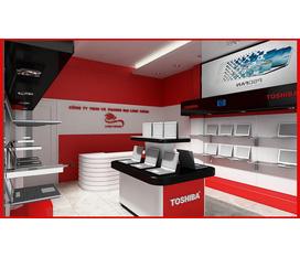 Thi công nội thất, thiết kế showroom.