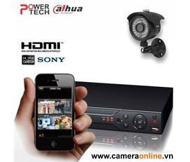 Bộ 1 camera ir1 6225 DVR dh dvr0404LE A hdmi