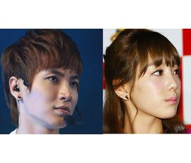Khuyên tai Playboy giống Taeyeon vs Leeteuk nè