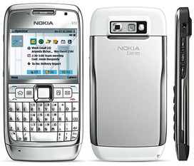 HN Nokia e71 trắng còn bảo hành FULL BOX