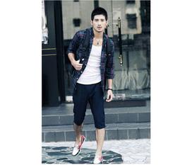 Mạnh mẽ với quần Jeans Nam phong cách Hàn Quốc mới nhất 2012