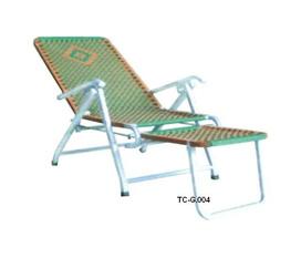 Ghế xếp TC G.004 đan Đài Loan ống vuông