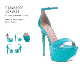 Topic 40: Topic chuyên các mẫu guốc 15cm trong BST Gianmarco Lorenzi 2012