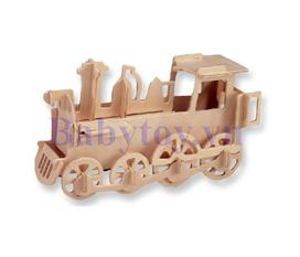 Đồ chơi xếp hình 3D : Đầu kéo xe lửa