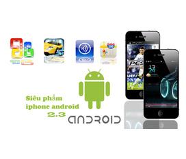 Thế giới điện thoại androi: iphone, HTC, Samsung