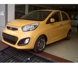 Kia Morning 2012 nhập khẩu, màu vàng chìa khóa trao tay. Giá rẻ nhất