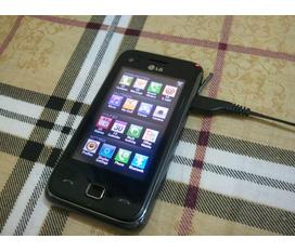 LG GM730 Wifi , 5 chấm ,3G , GPS ...Máy đẹp nguyên tem LG giá rẻ nhất mạng 1tr950k