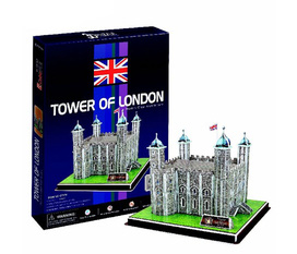 Đồ chơi xếp hình 3D : Toà tháp Tower London Công ty TNHH Minh Á Văn phòng giao dịch số 182 Hoàng Văn Thái