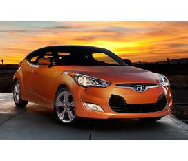 Hyundai Veloster 1.6 GDI sang trọng và đầy cá tính Màu vàng cam Lambogini