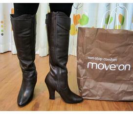 Boots da thật hàng xách tay châu Âu