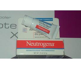 Thanh lý mỹ phẩm: Kem trị mụn Neutrogena On the spot, Tẩy trang Byphasse, Cetaphil