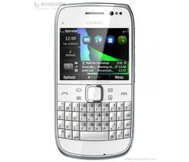 Nokia E6 hàng cty màu trắng mới mua 1 tháng bán