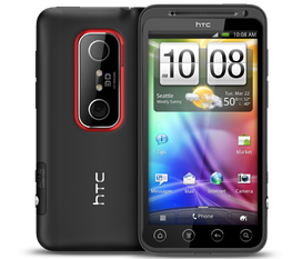 Bán HTC Evo 3D CDMA 99.99% 5tr6