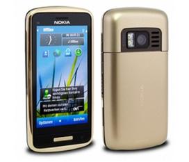 Nokia C6 01 Gold full phụ kiện bảo hành 02/2013 đẹp 99,99%
