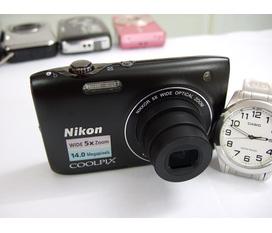 Nikon Coolpix S3100 như mới 14 megapixel , quay phim độ phân giải cao HD